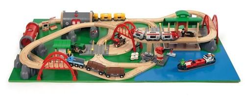 Brio  houten trein speeltafel Displaytafel 33025