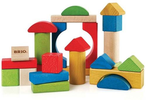 BRIO speelgoed Gekleurde blokken 25 stuks