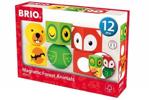 BRIO speelgoed Magnetische bosdieren