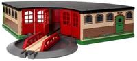 BRIO trein Treinremise 33736