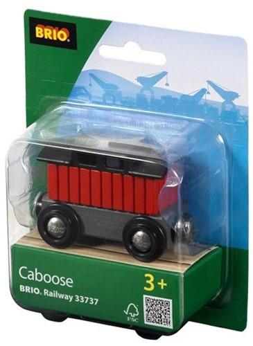 Brio  houten trein accessoire Caboose 33737-2