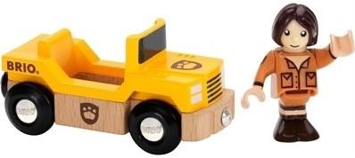 BRIO trein Wagon met giraffe 33724-2