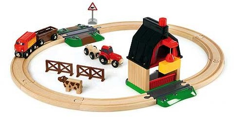 BRIO Treinset met boerderij - 33719