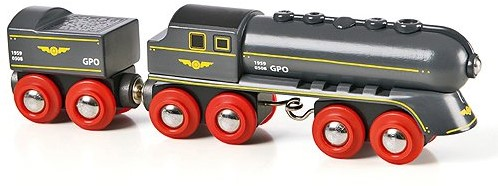 BRIO trein Zwarte hogesnelheidstrein 33697
