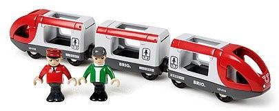 BRIO Rode passagierstrein - 33505