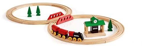 BRIO trein Klassieke treinset 33028