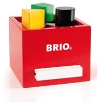 BRIO speelgoed Rode vormenstoof