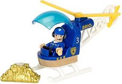 BRIO trein Politie helicopter 33828